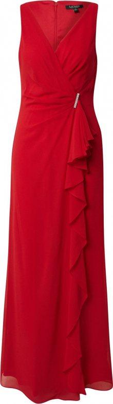 Lauren Ralph Lauren Společenské šaty \'Hermina\' červená