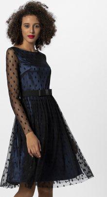 APART Společenské šaty černá / noční modrá
