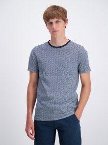 Tmavě modré vzorované tričko Lindbergh