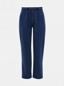 Tmavě modré pánské pyžamové kalhoty GANT