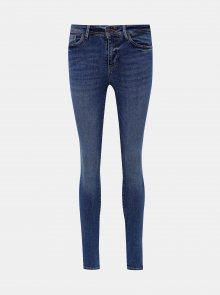 Modré skinny fit džíny VERO MODA Teresa