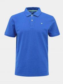 Modré pánské basic polo tričko Tom Tailor