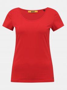 Červené dámské basic tričko ZOOT Baseline Nora
