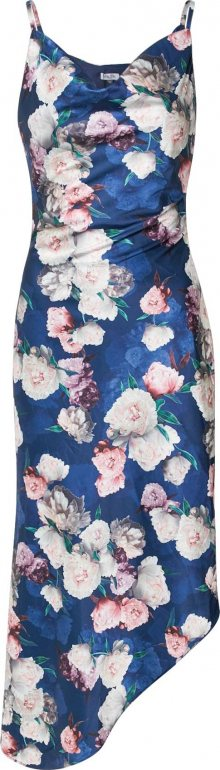 Chi Chi London Letní šaty \'Elysha\' námořnická modř / mix barev