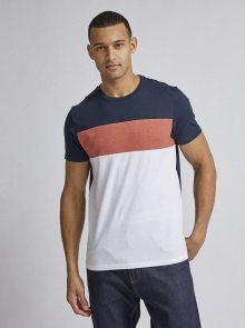 Bílo-modré tričko Burton Menswear London