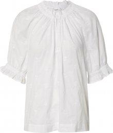 GAP Tričko barva bílé vlny