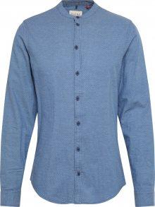 BLEND Košile kouřově modrá / tmavě modrá