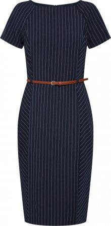 Dorothy Perkins Pouzdrové šaty námořnická modř / bílá