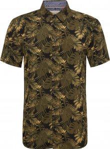 BLEND Košile olivová