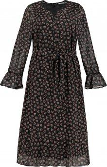 Ulla Popken Košilové šaty černá