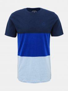 Tmavě modré tričko ONLY & SONS Frank