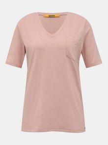 Růžové dámské basic tričko ZOOT Baseline Bianca
