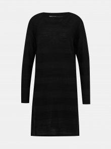 Černé svetrové šaty ONLY Caviar