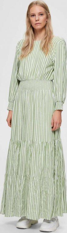 SELECTED FEMME Šaty zelená