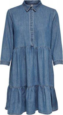 ONLY Šaty modrá džínovina