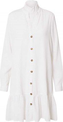 Noisy may Košilové šaty bílá