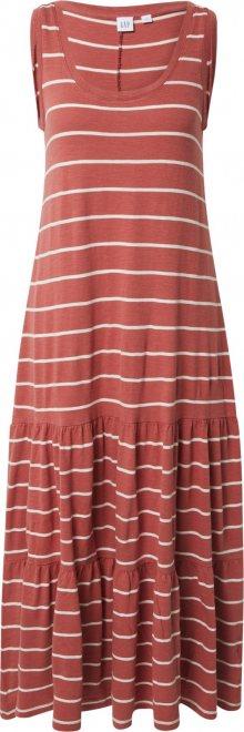 GAP Šaty mix barev / červená