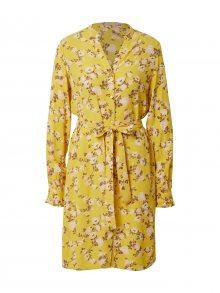 PIECES Šaty \'MELINDA\' žlutá