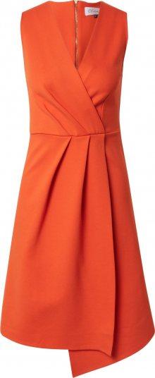 Closet London Koktejlové šaty oranžová