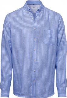 BRAX Košile \'Dries\' bílá / královská modrá