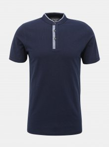 Tmavě modré tričko Jack & Jones Erza