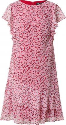Lauren Ralph Lauren Letní šaty \'CYRENA\' krémová / červená