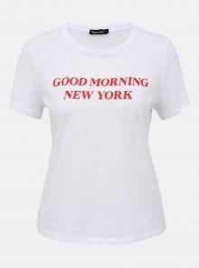 Bílé tričko s potiskem TALLY WEiJL Teka