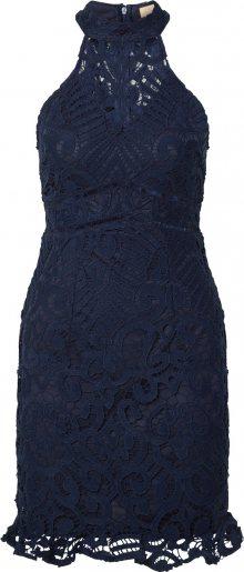 Love Triangle Koktejlové šaty \'Laetitia\' námořnická modř