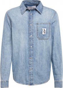 Calvin Klein Jeans Košile modrá džínovina