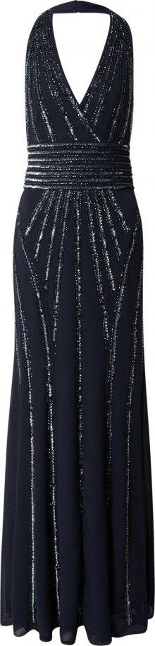 LACE & BEADS Společenské šaty \'Morgan\' modrá