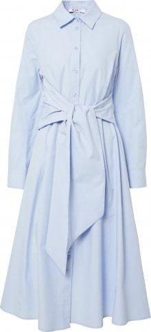 NA-KD Košilové šaty modrá
