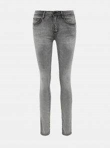 Šedé dámské slim fit džíny ZOOT China