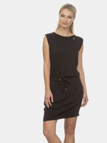 Černé šaty Ragwear Mascarpone