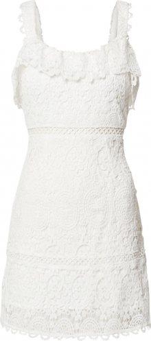 Love Triangle Společenské šaty \'Candy Crush Dress\' bílá