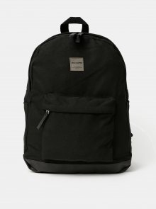 Černý batoh Jack & Jones Canvas