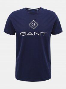 Tmavě modré pánské tričko GANT