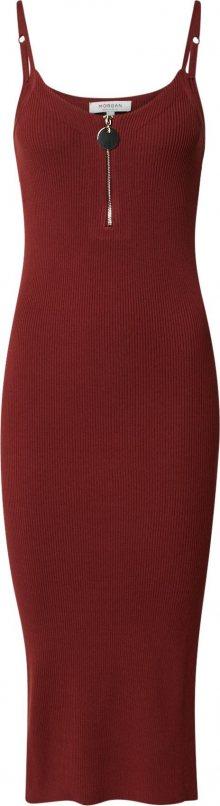 Morgan Šaty vínově červená