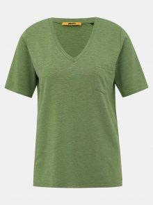 Zelené dámské basic tričko ZOOT Baseline Bianca