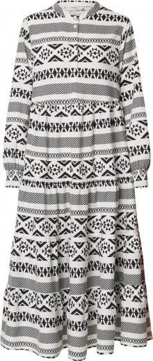 ONLY Košilové šaty \'ONLLUCCA\' bílá / černá