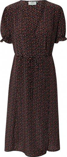 Moves Košilové šaty \'odisse 1698\' černá / červená