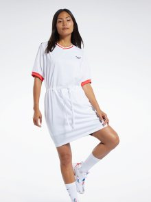 Bílé šaty s výšivkou Reebok