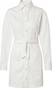 NA-KD Košilové šaty bílá
