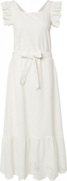 OBJECT Letní šaty \'LINEANA\' bílá / krémová