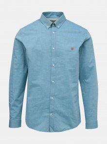 Modrá slim fit košile Jack & Jones Bla