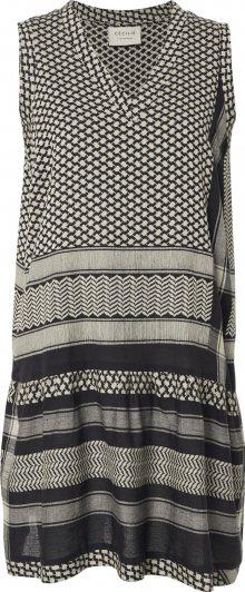 Cecilie Copenhagen Šaty černá / šedá