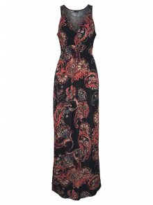 LASCANA Letní šaty mix barev / černá