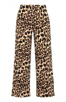 Kalhoty se vzorem Embla / leopardí