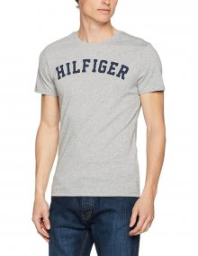 Tommy Hilfiger Pánské Tričko Iconic Grey S