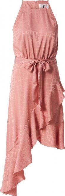 Forever Unique Koktejlové šaty pink