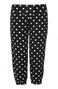 Puntíkované kalhoty Hatz / černá/bílá